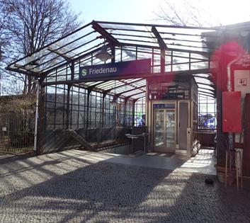 S-Bahn-Station Fiedenau